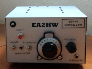 EGV-40 montado