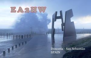 Imagen del Paseo Nuevo de Donostia