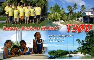 Western Kiribati, DXexp 2014